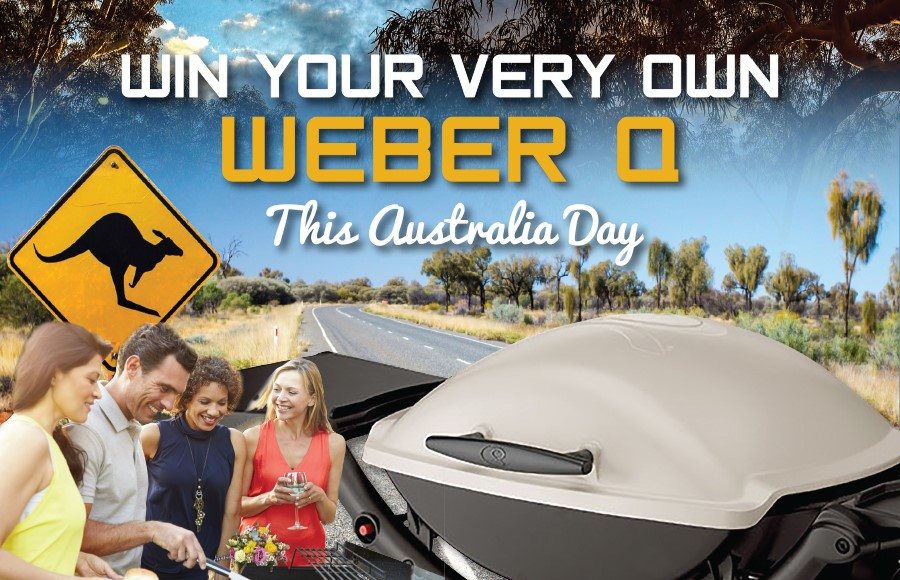 WIN Yourself a Webber Q this Australia Day