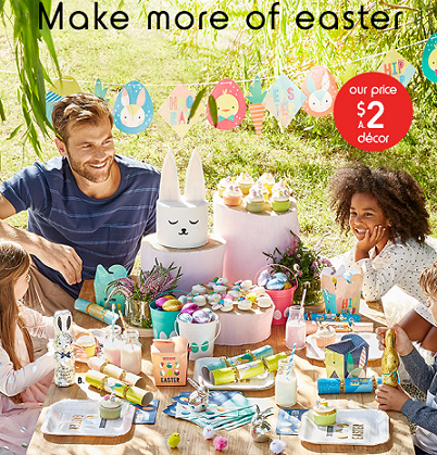 Easter at Kmart