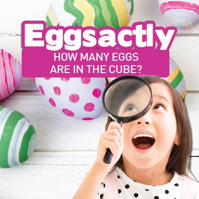 Eggsactly How Many Eggs Are In The Cube?