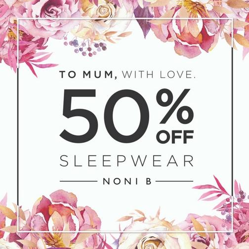 50% Sleepwear