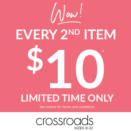 Every 2nd item $10