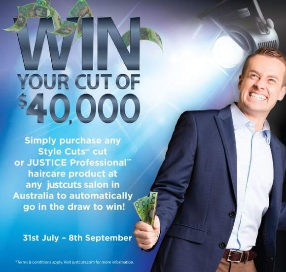 Win your cut of $40,000