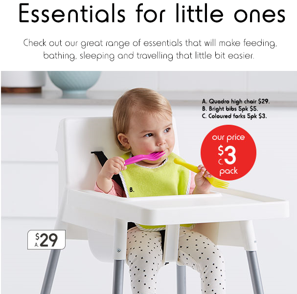 Essentials for little ones
