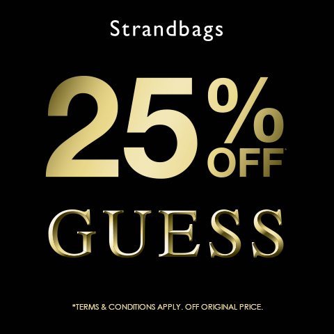 25% OFF GUESS!