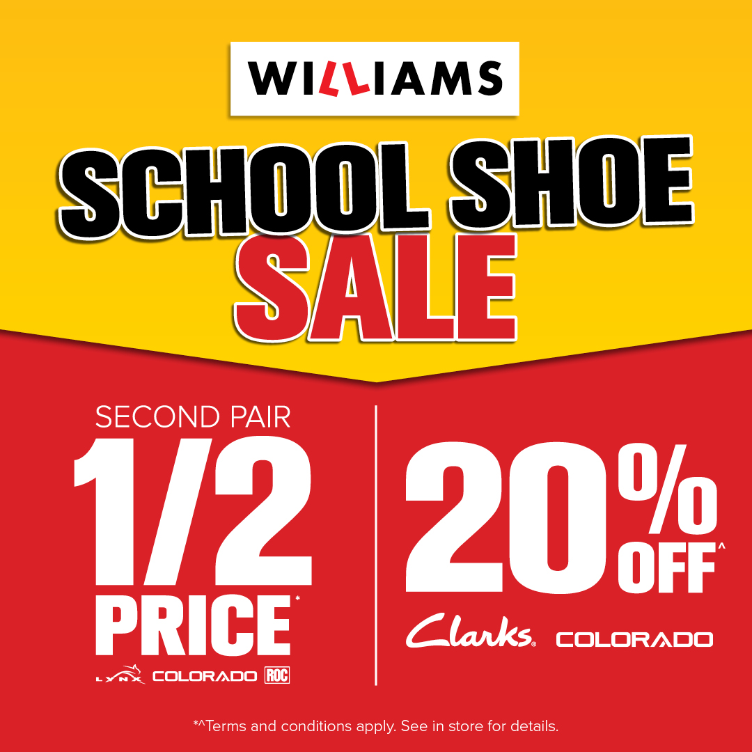 School Shoe Sale