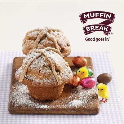 Hot Cross Muffin