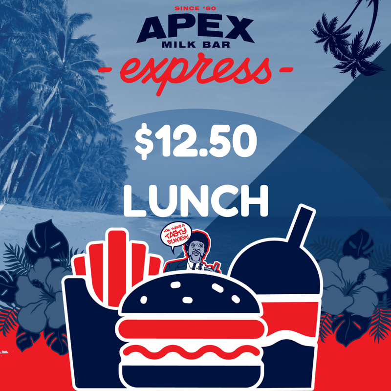 Lunch at Apex!