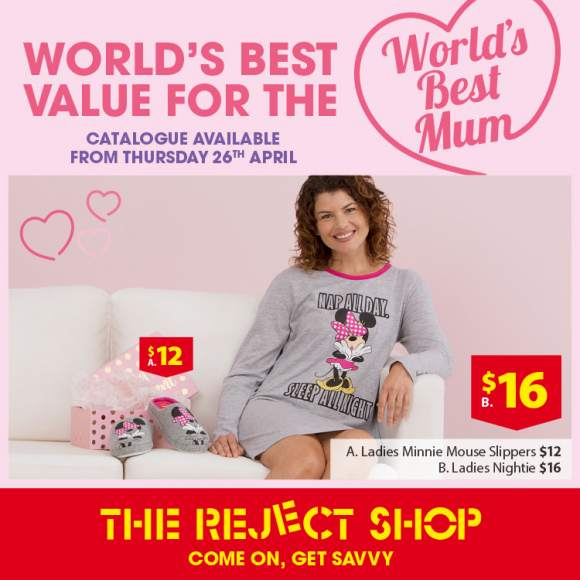 Spoil Mum at the Reject Shop