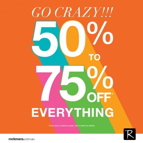 Happiness is….SALE