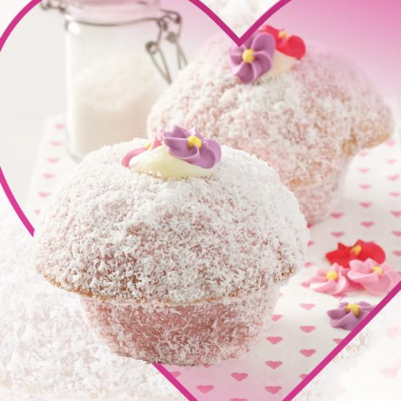 Pink Lamington Muffin!