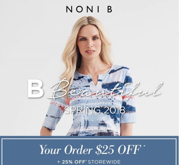 Noni B Spring Sale