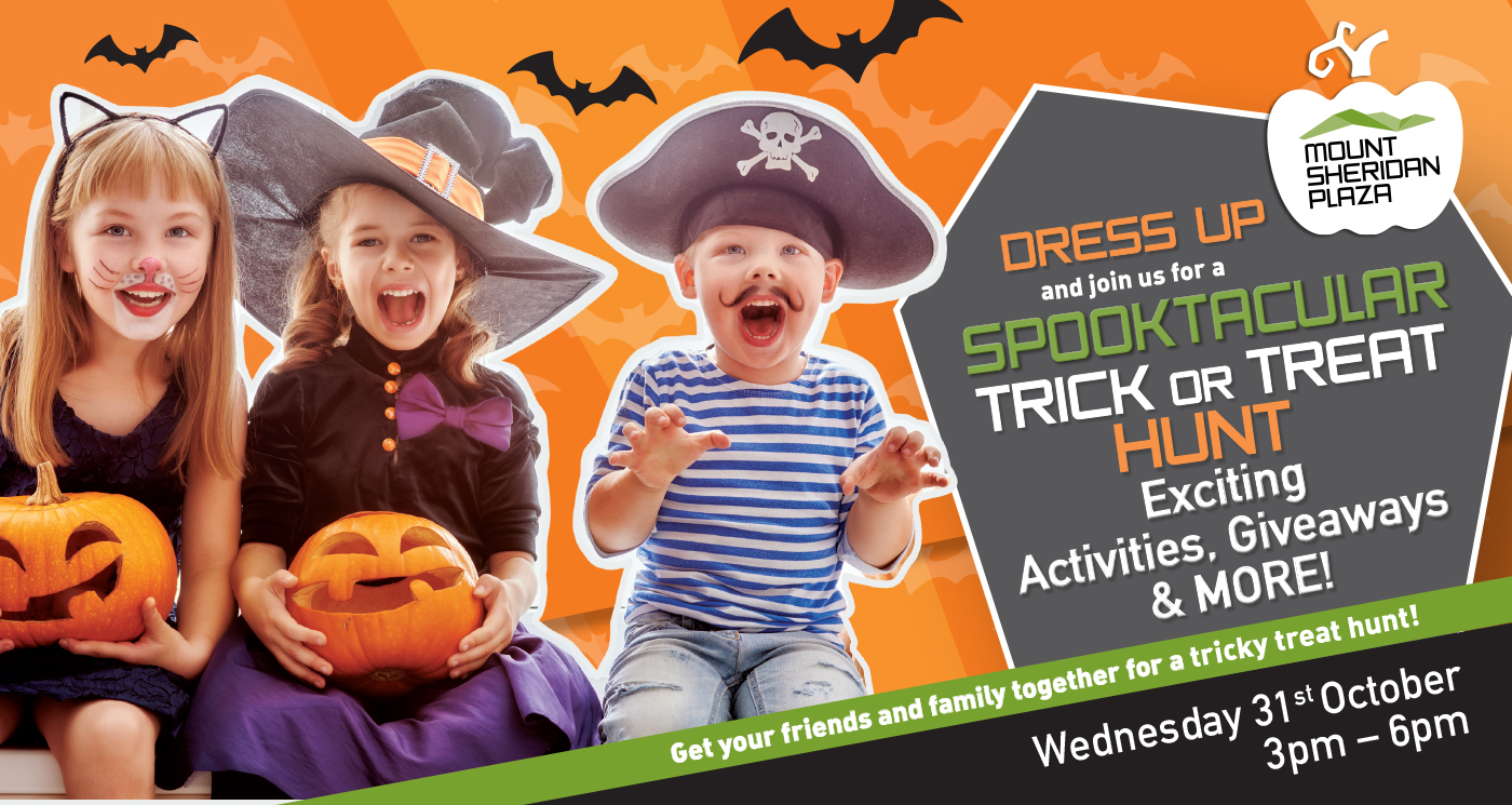 Come Trick or Treat with us!