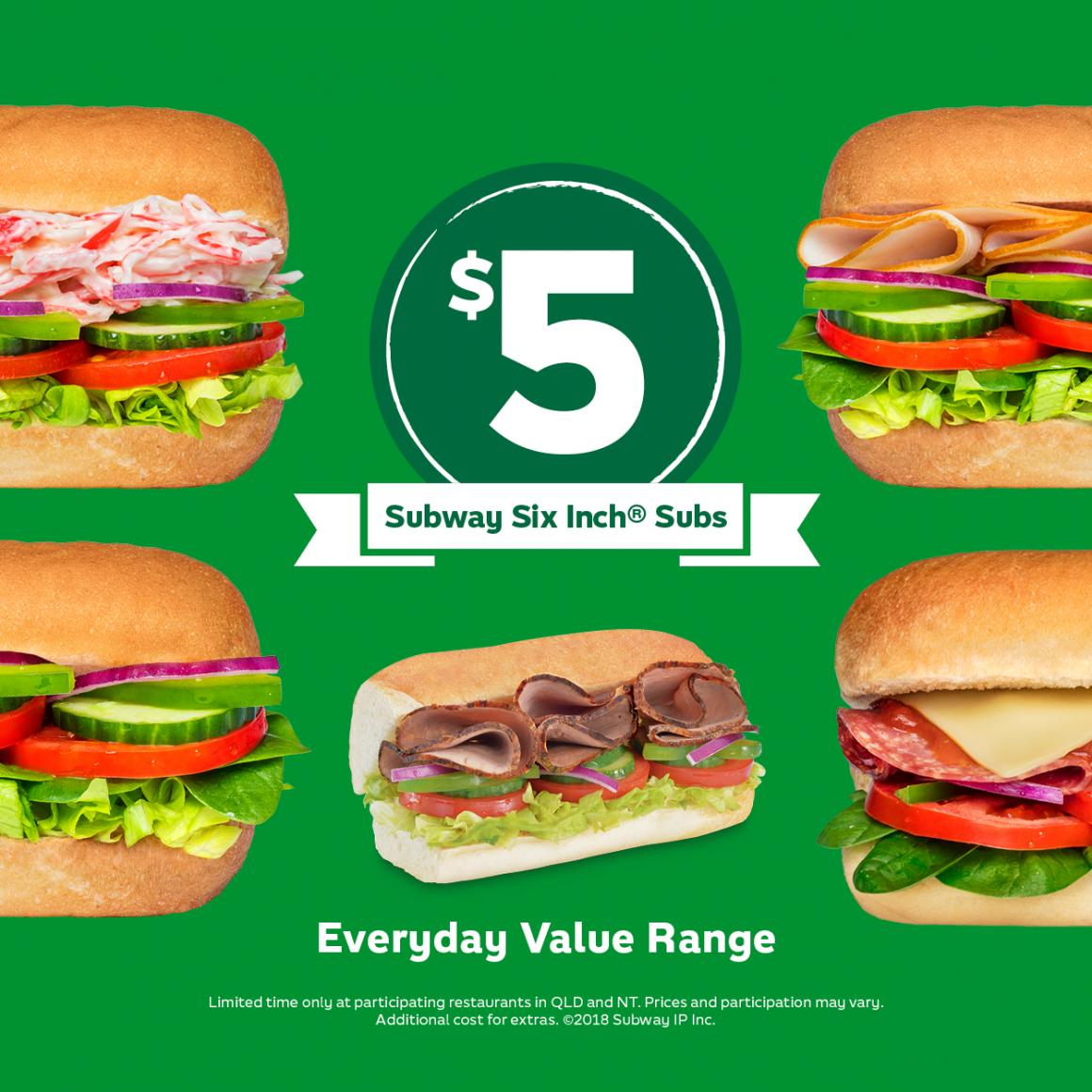 Everyday Value at Subway