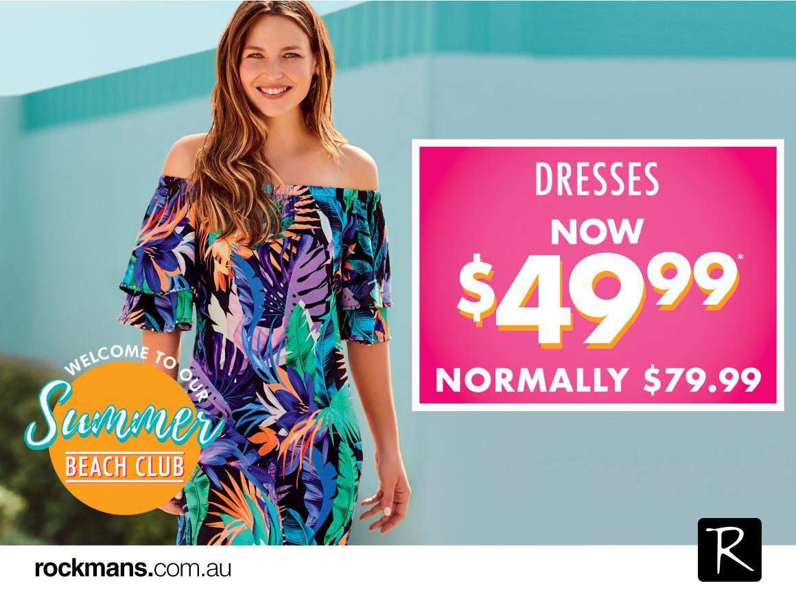 Rockmans Dress Sale