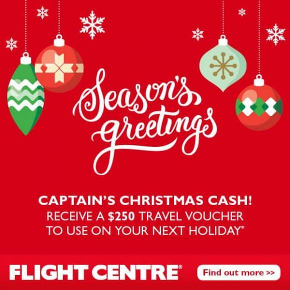 Flight Centre's Captain's Cash Offer