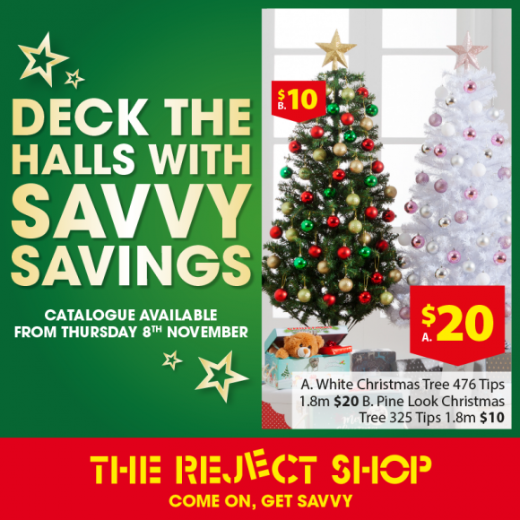 The Reject Shop Christmas Catalogues
