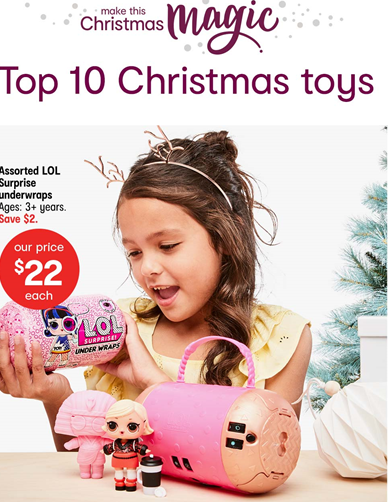 Kmart's Top Ten Gifts for Kids