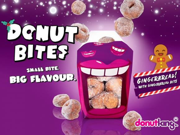 Donut King's Gingerbread Bites