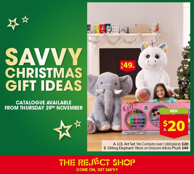 The Reject Shop's Savvy Savings