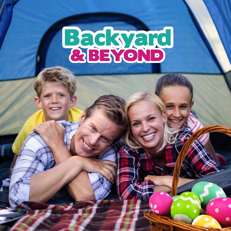 Win 1 of 3 Camping Packages this Easter!
