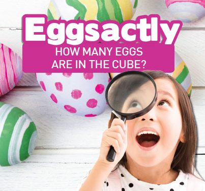 Easter Egg Guessing Competition!