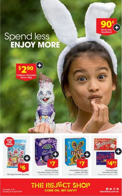 Easter Savings at The Reject Shop