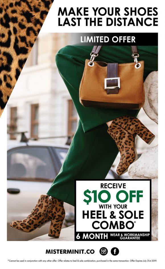Shoe Repair Deal
