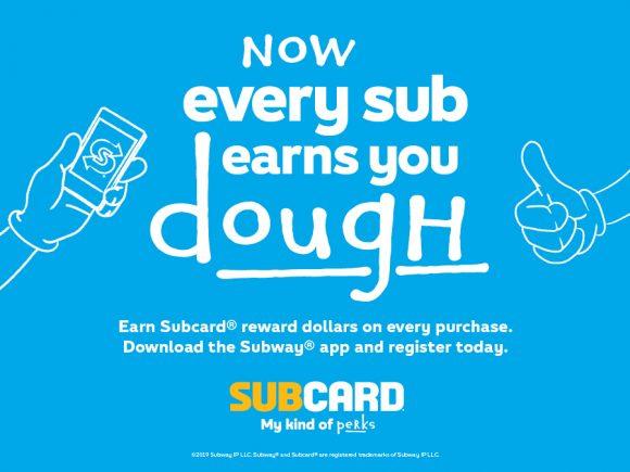 Subway's NEW Subcard
