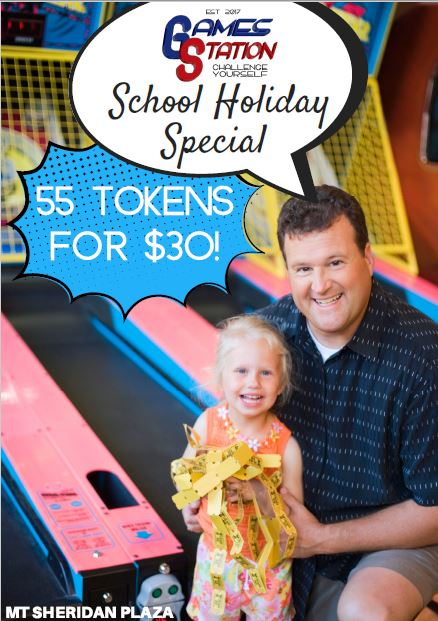 Games Station School Holiday Deal