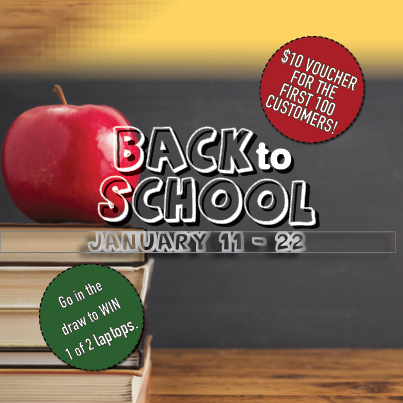 Cairns goes Back to School