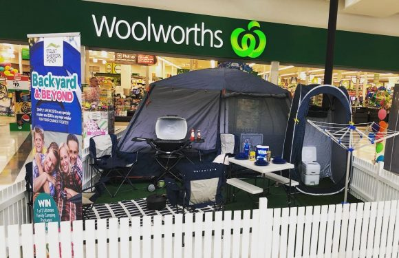 Let's Go Camping: Win 1 of 3 packages full of camping gear with Mount Sheridan Plaza
