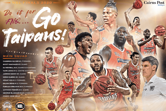 Let's Go Taipans Let Go!