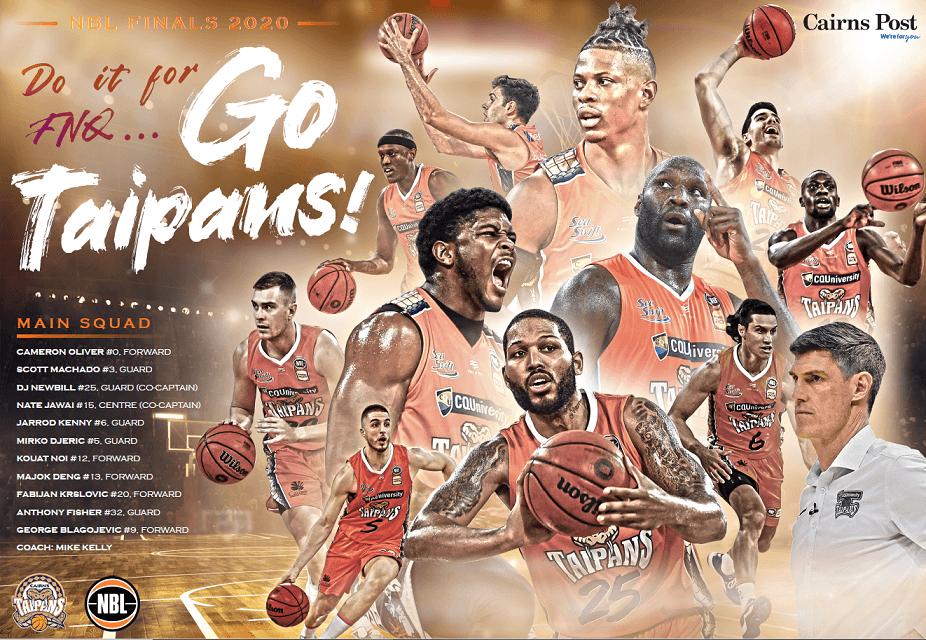Let's Go Taipans Let Go!