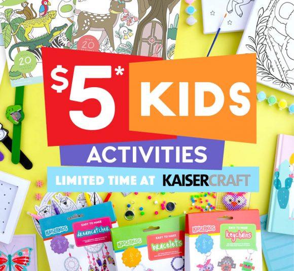 Kaisercraft $5 Activities