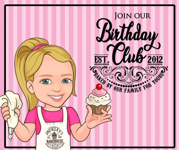 Jackley's Bakehouse Birthday Club