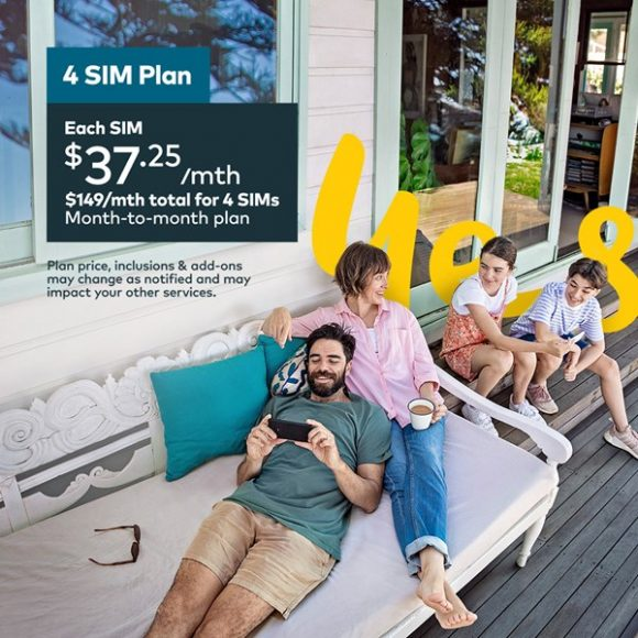 OPTUS Family Deal