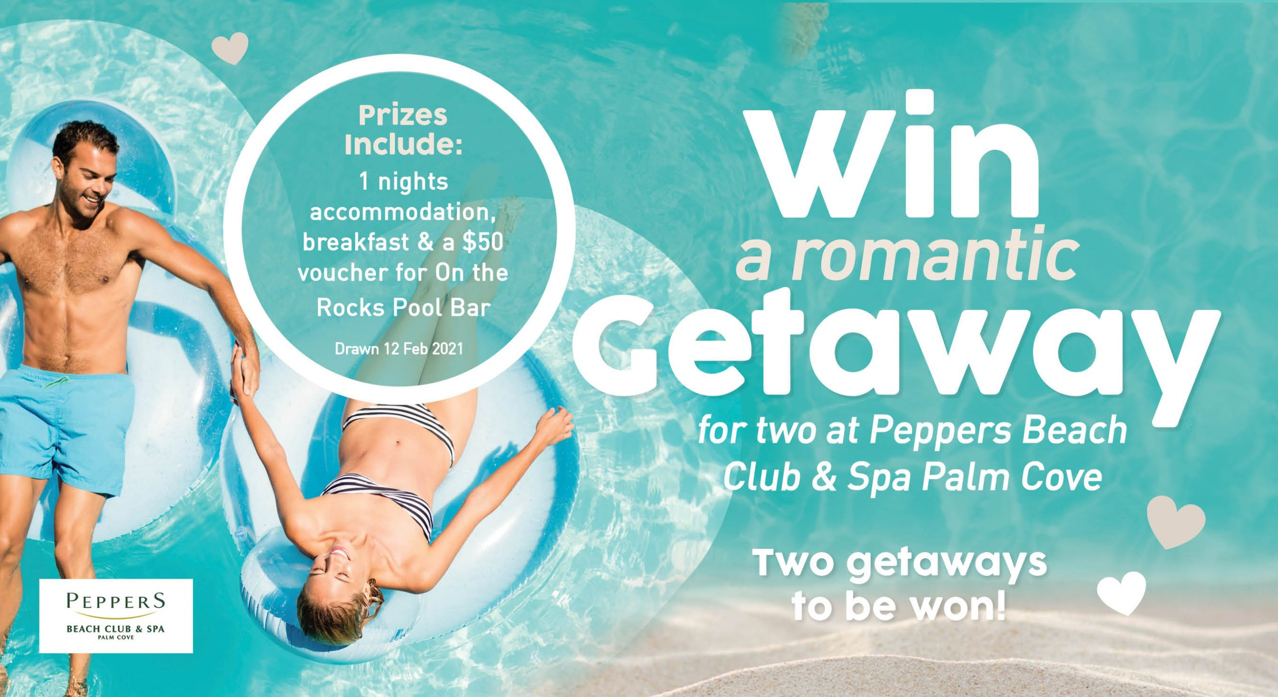 Valentines Day – Win a Getaway